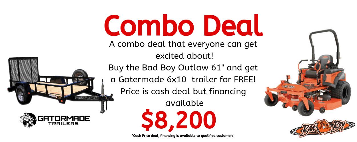 Mower combo deal